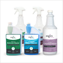 Zogics Restroom Cleaning Bundle