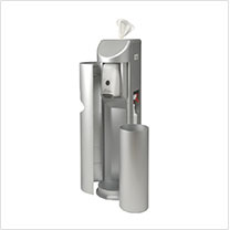 The Cleaning Station Wipe and Hand Sanitizer Dispenser