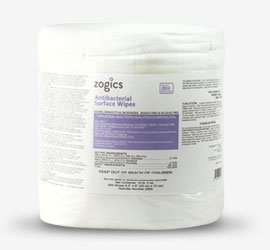 Zogics Antibacterial Gym Wipes