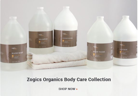 Zogics Organics Honey Coconut Body Care Collection