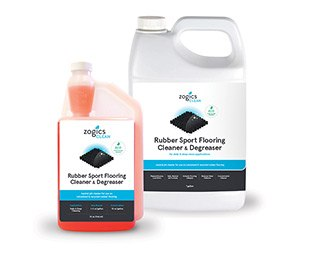 Zogics Rubber Sport Flooring Cleaner and Degreaser